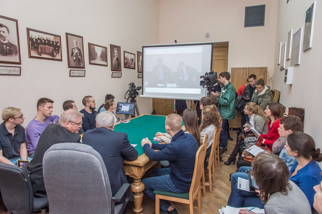 The Polytechnic University participated in the video conference with Deputy Minister of Education and Science of the Russian Federation A. A. Klimov