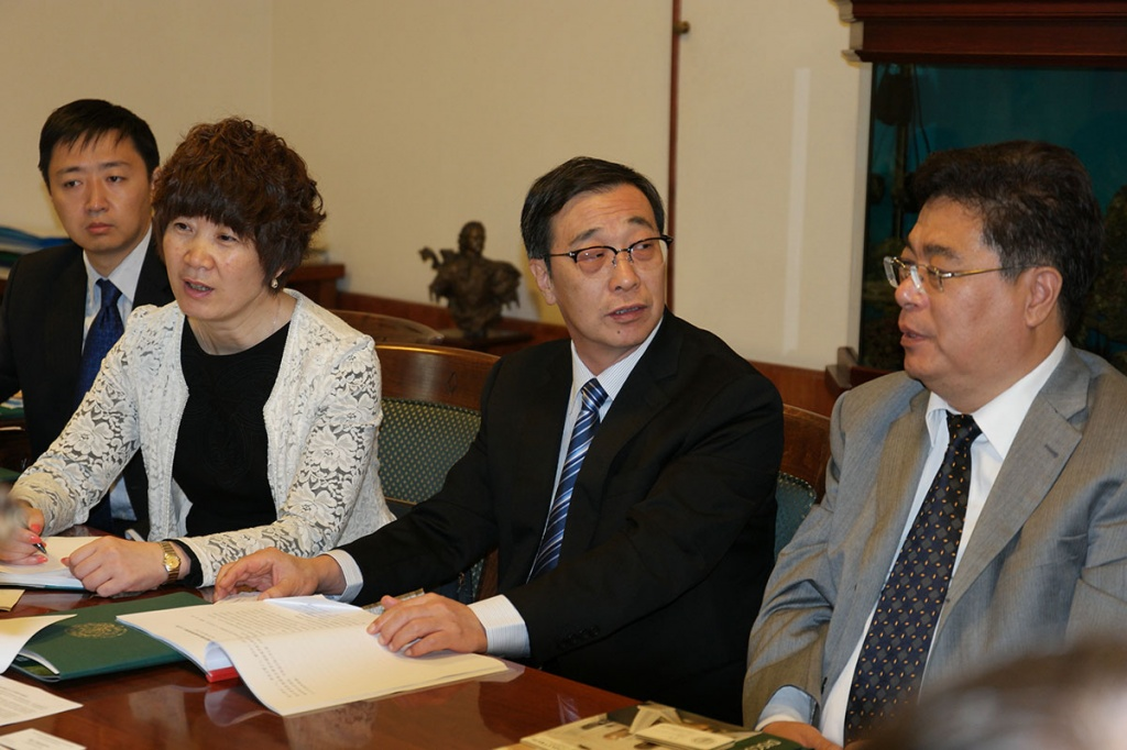 The Delegation of the State Committee of Foreign Experts  China  Visits SPbPU