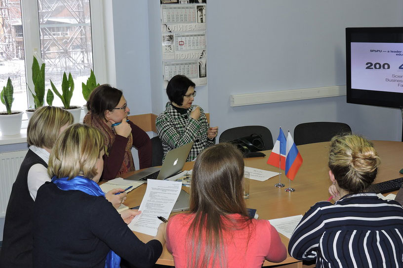 SPbPU Hosted Negotiations on Cooperation with the Head of the International Office of INSEEC Business School