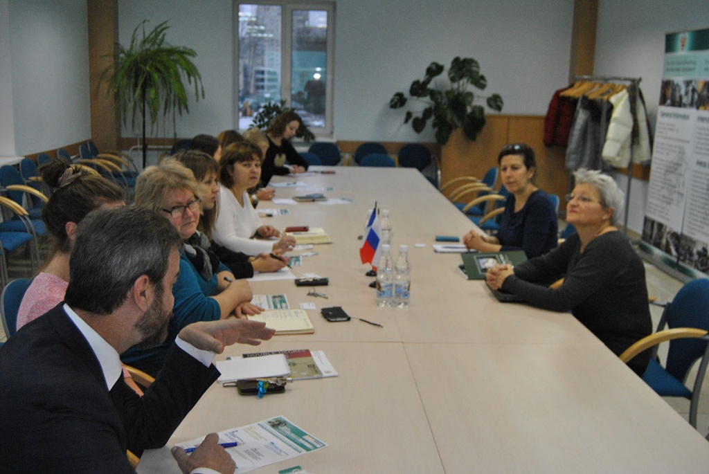 Meeting with Renault Foundation Representatives at SPbPUа