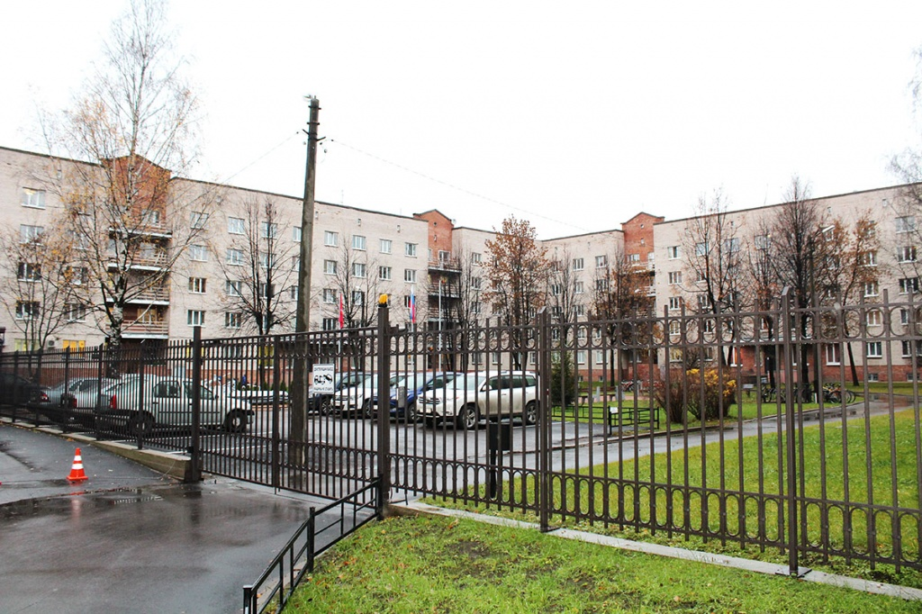 Dormitories complex  on Ploshchad Muzhestva
