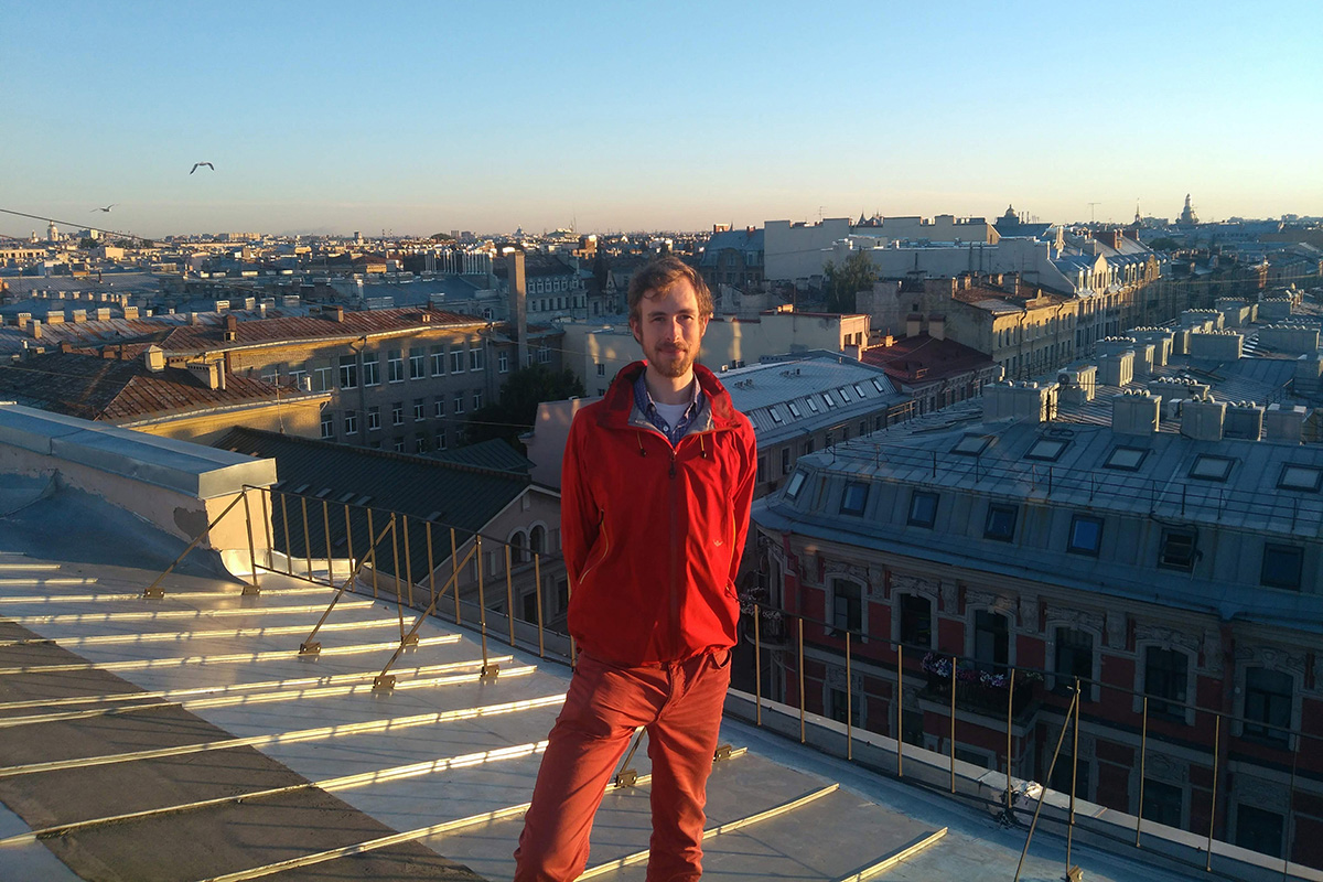 International student David Gutdeutsch about his studying at Polytechnic University and travelling around Russia