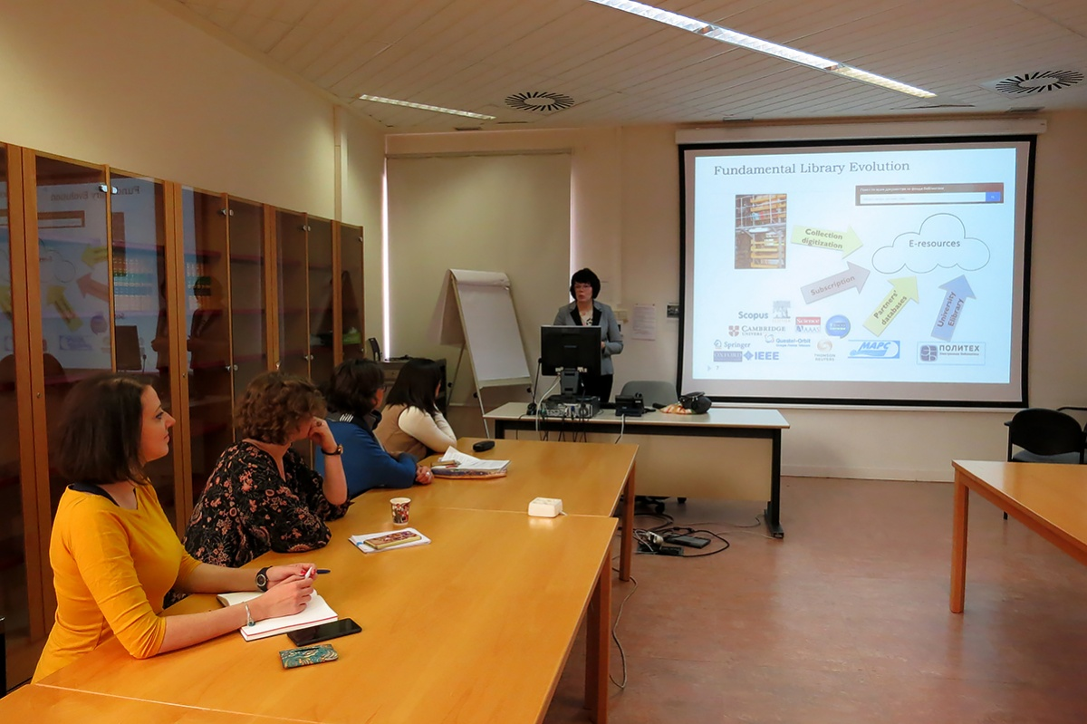 Treasures of world libraries: SPbPU representatives in Madrid