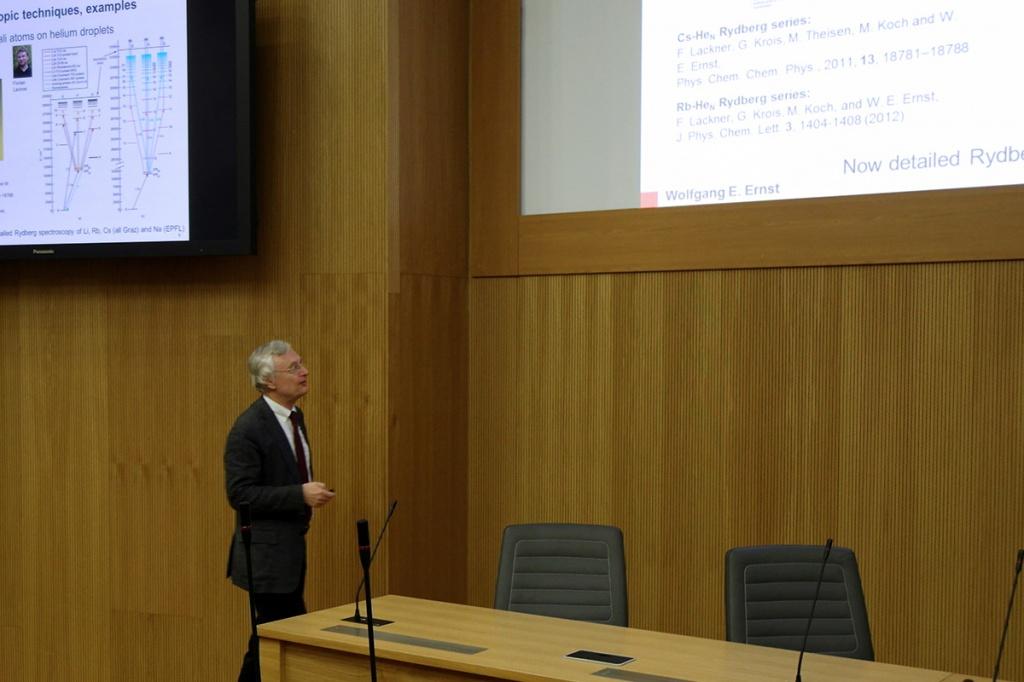Professor Wolfgang E. Ernst