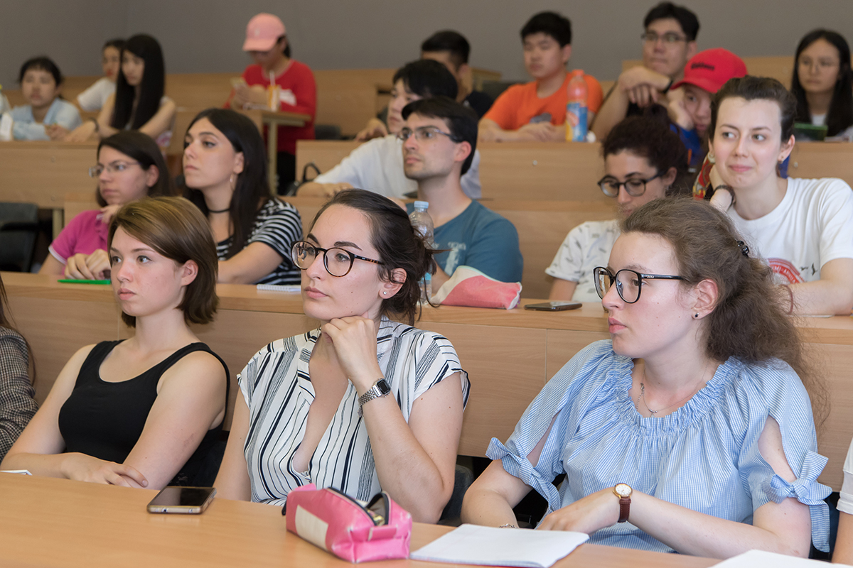 Students of International Polytechnic Summer School say about pleasant and friendly atmosphere of the classes