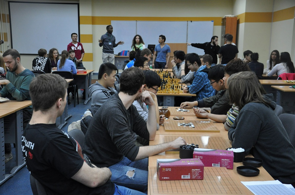 Evening of Board Games in Polytechnic University