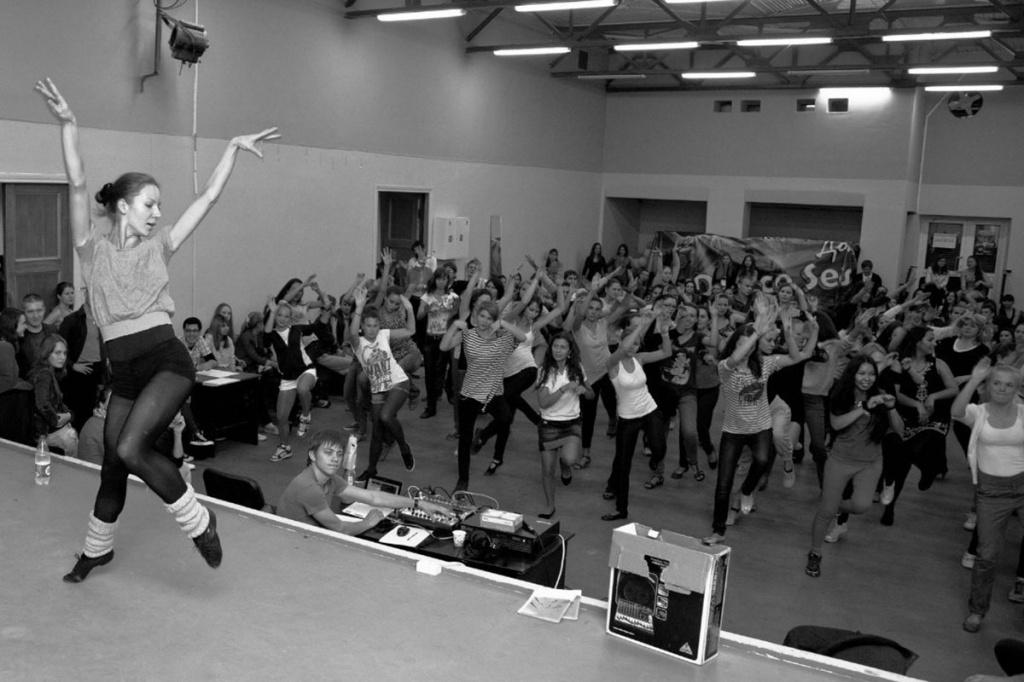 Amateur dancer lap student consider