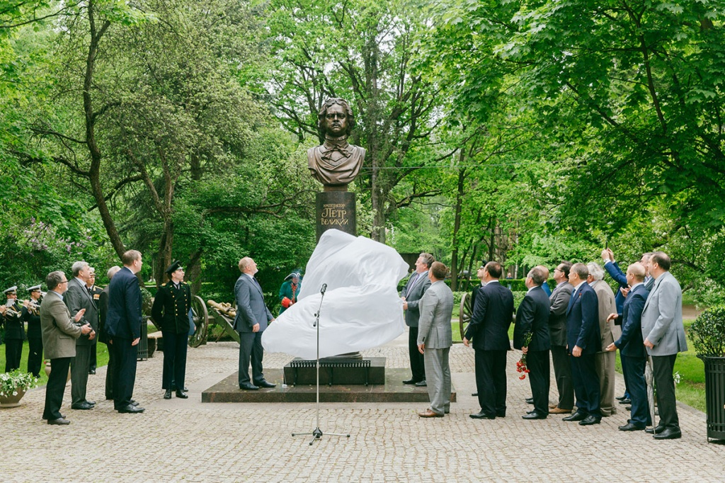 Polytechnic University got its Peter: the University Held the Opening Ceremony of the Monument to Peter the Great