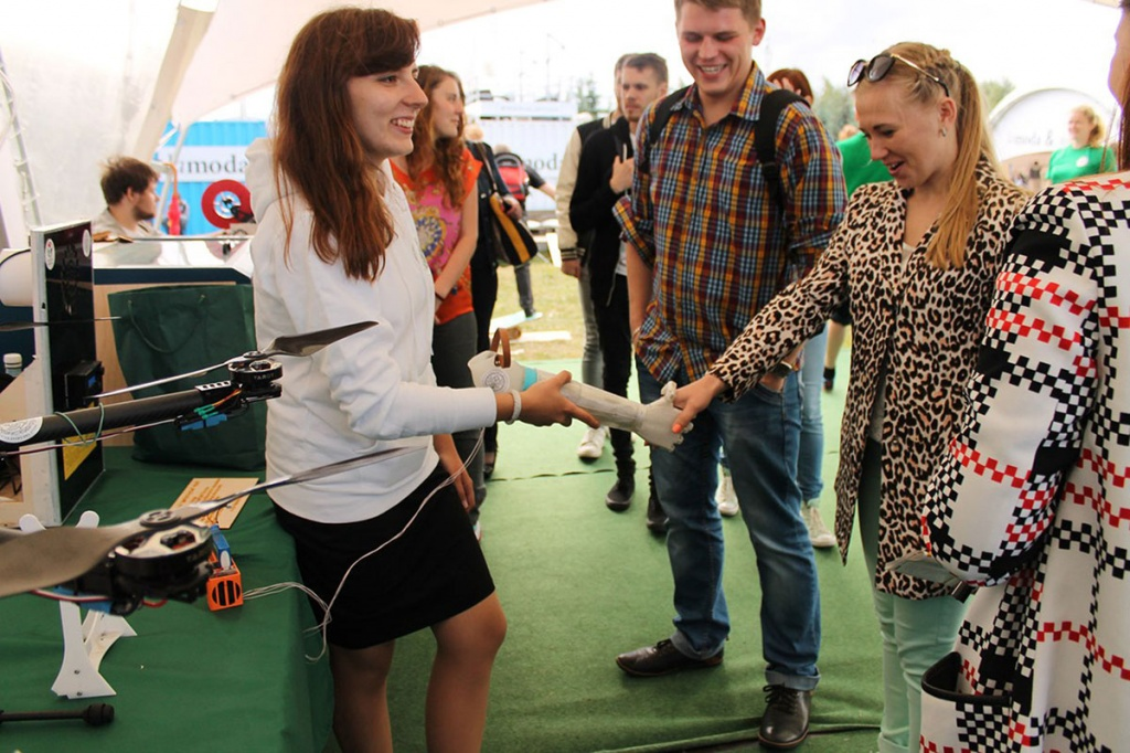 SPbSPU submitted the projects at the festival of VKontakte