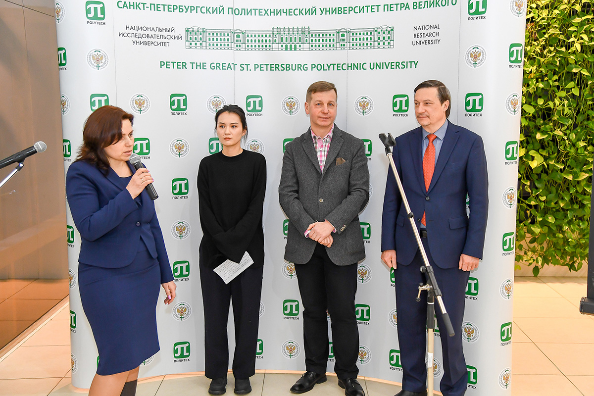 International students of the International Polytechnic Winter School were welcomed by representatives of SPbPU, partner universities and companies
