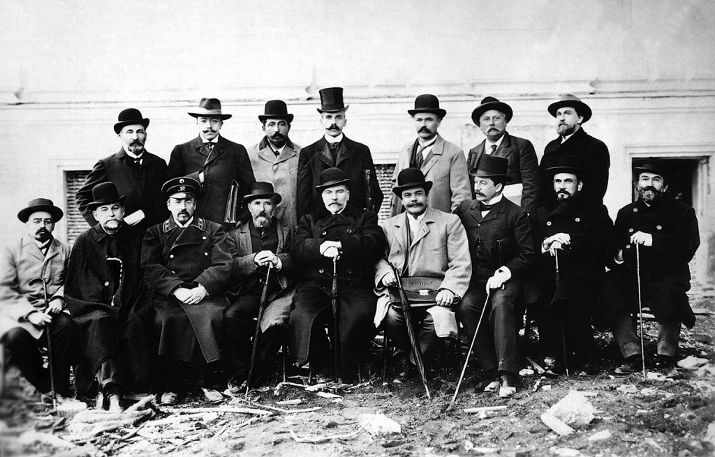 special Building Committee in charge of constructing buildings of Saint-Petersburg Polytechnic Institute. 1902