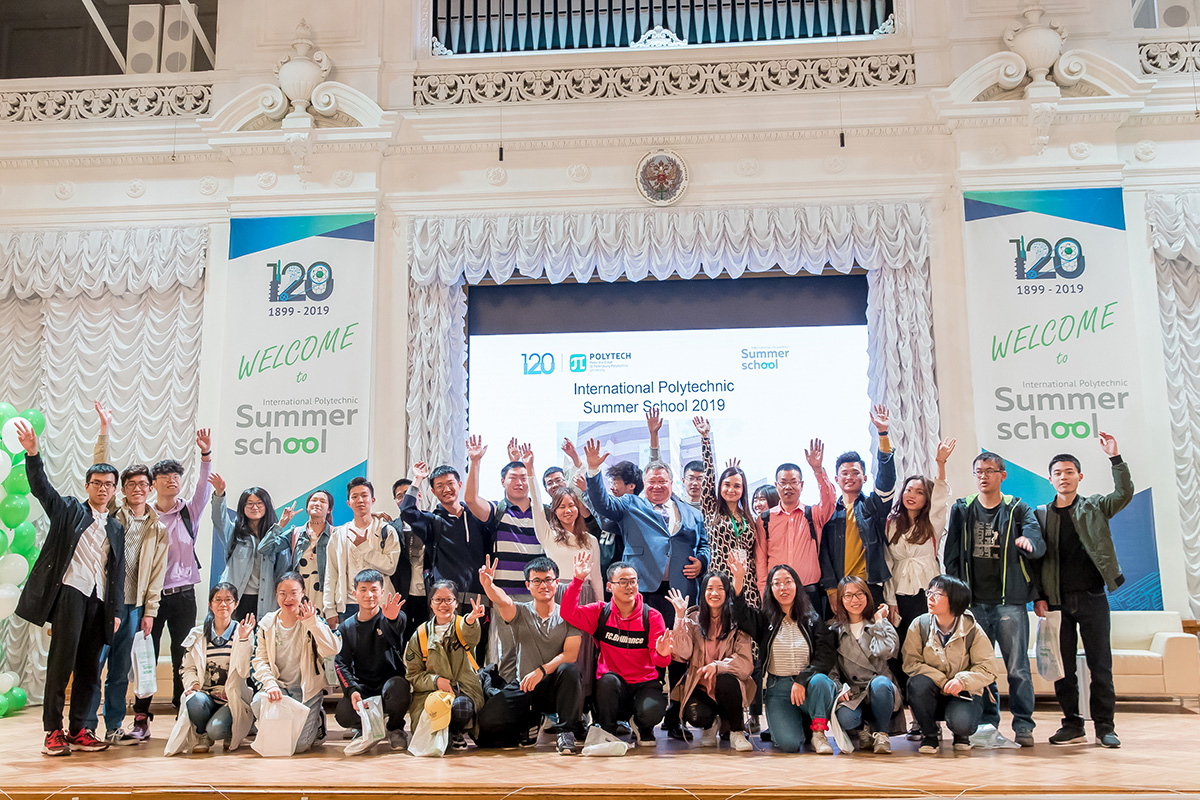 In 2019 more than 1000 international students took part in International Polytechnic Summer School