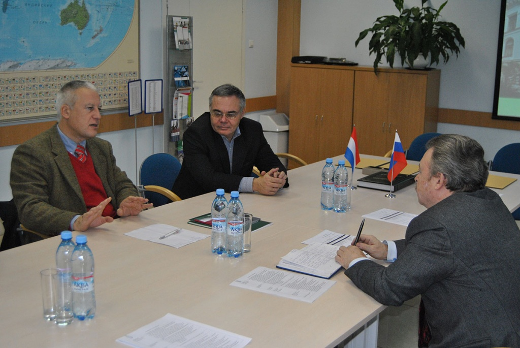 Vice-President of the University of Luxembourg Franck Leprevost visited SPbPU