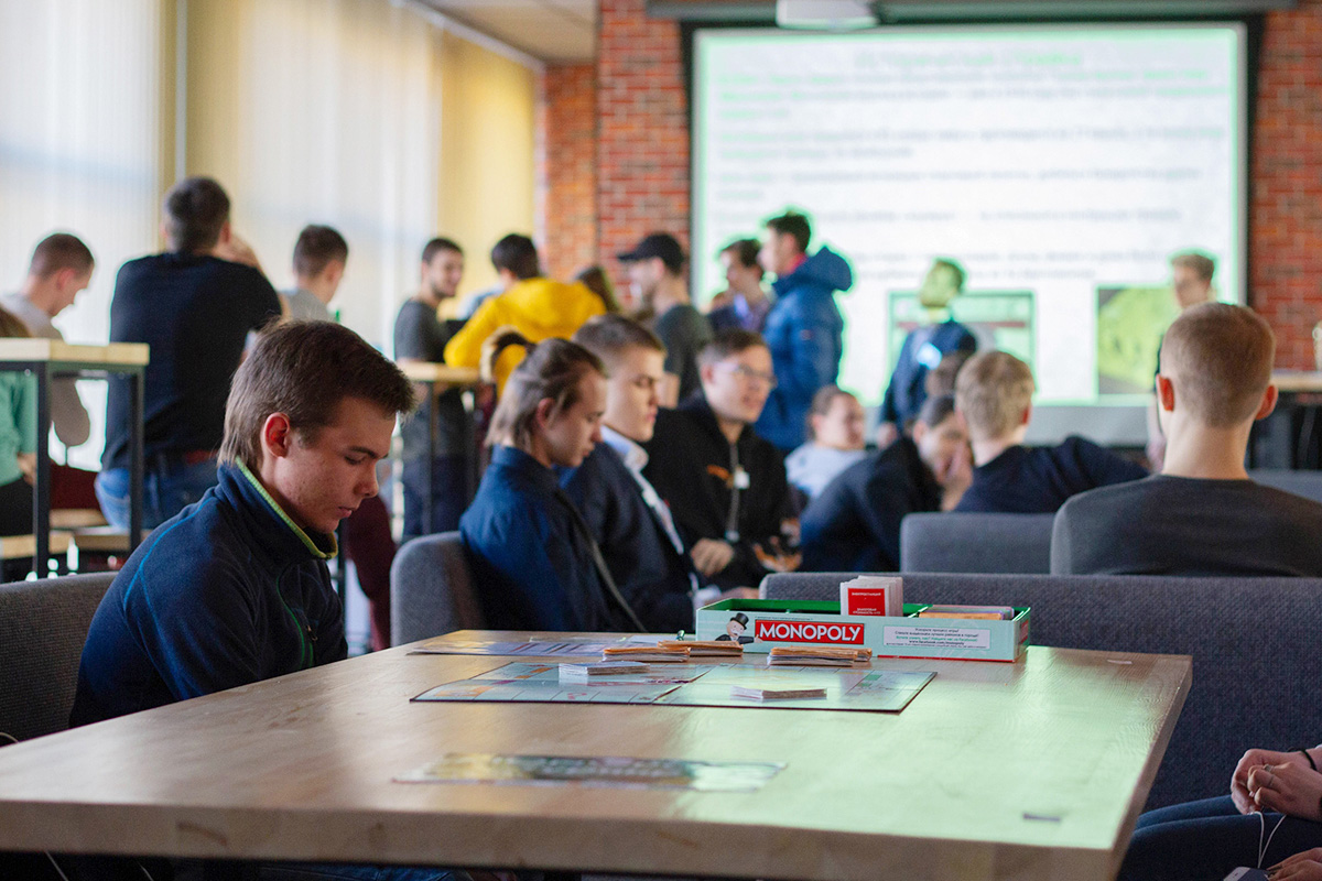 Last spring, a monopoly tournament was held at the PolyUnion club site