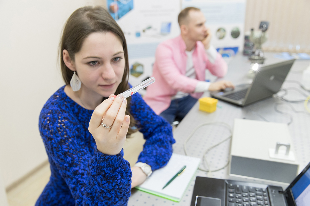 Scientists of SPbPU learned to perform the diagnose by analyzing saliva