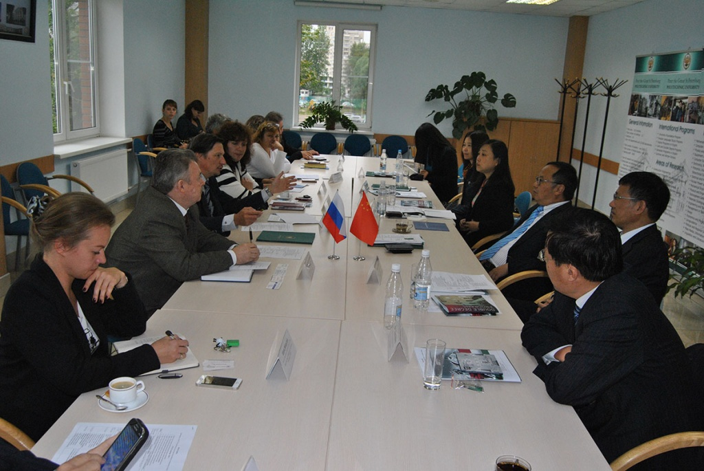 Cooperation between SPbPU and Zhejiang University is an important factor for the development of Russian-Chinese relationships