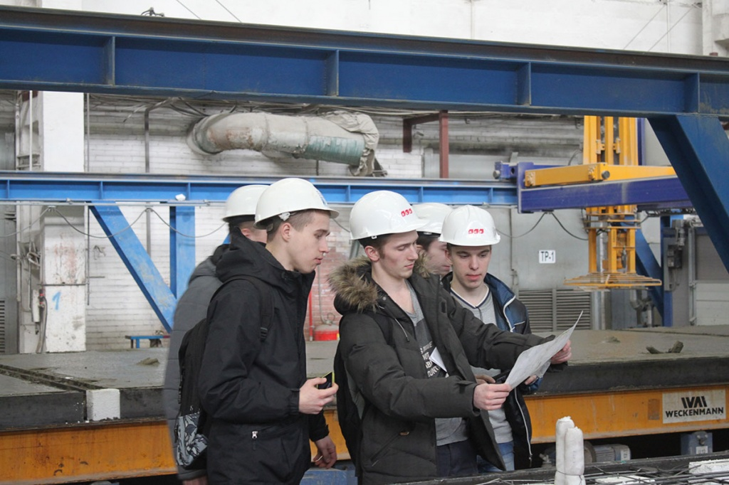 Field Trips to Manufacturing Companies for the Students of the Institute of Civil Engineering