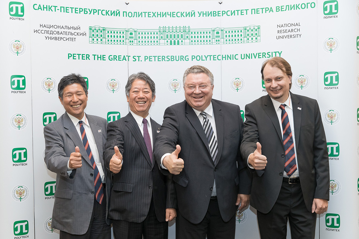 Kawasaki and Polytech will advance the industry not only in St. Petersburg but all over Russia