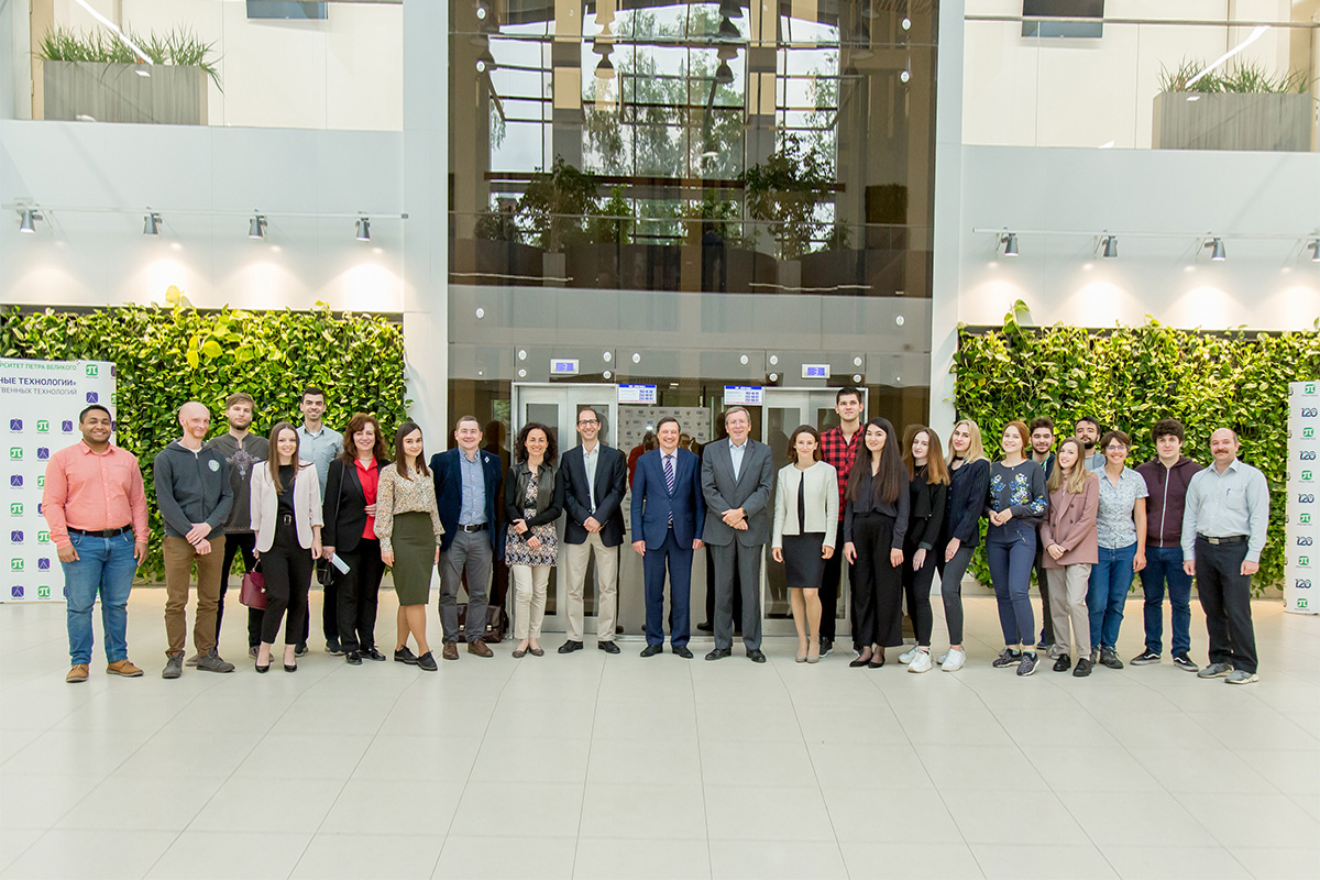 SPbPU and École Polytechnique launched a joint international summer school program