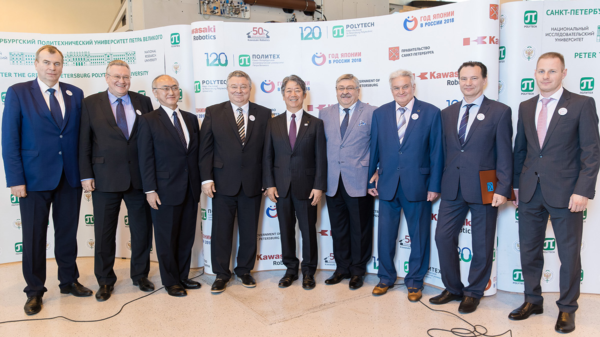 Opening of the Kawasaki-Polytech Center brought together representatives of Russian and Japanese authorities, business, and science