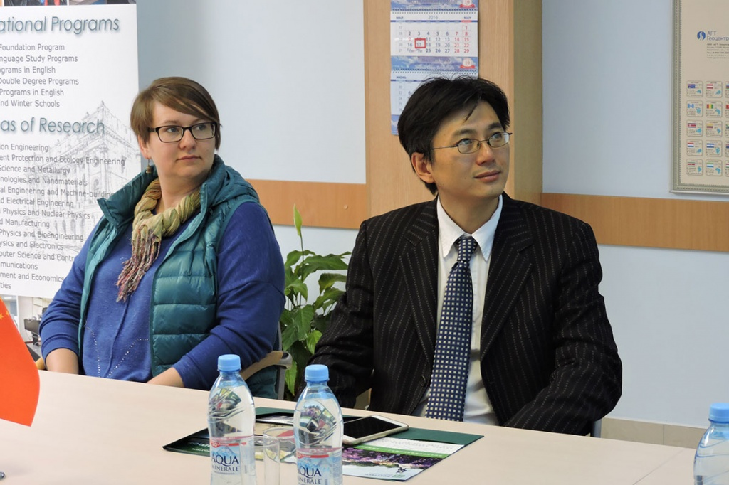 Visit of Shanghai Jiao Tong University Delegation to SPbPU