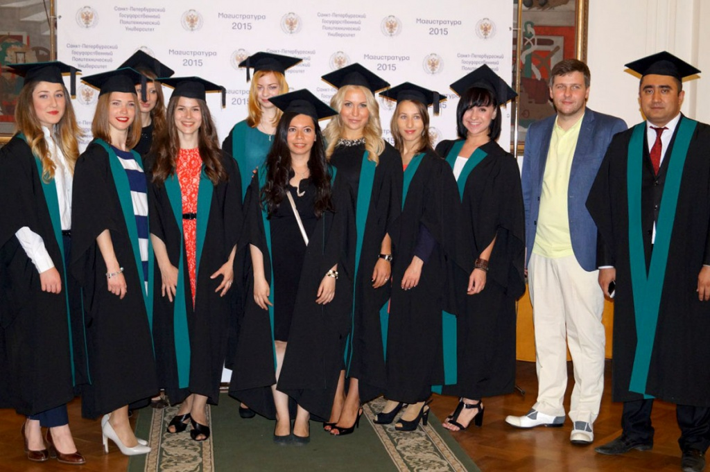 Peter the Great St. Petersburg Polytechnic University Saw First Graduates of International Master's Programs in English