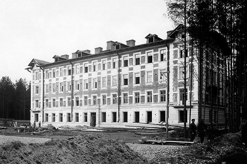 The first professors' building. 1902