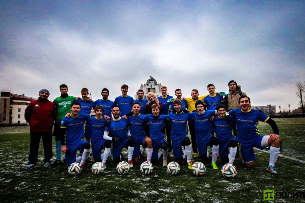 Polytechnic team is the leader of Saint Petersburg student football