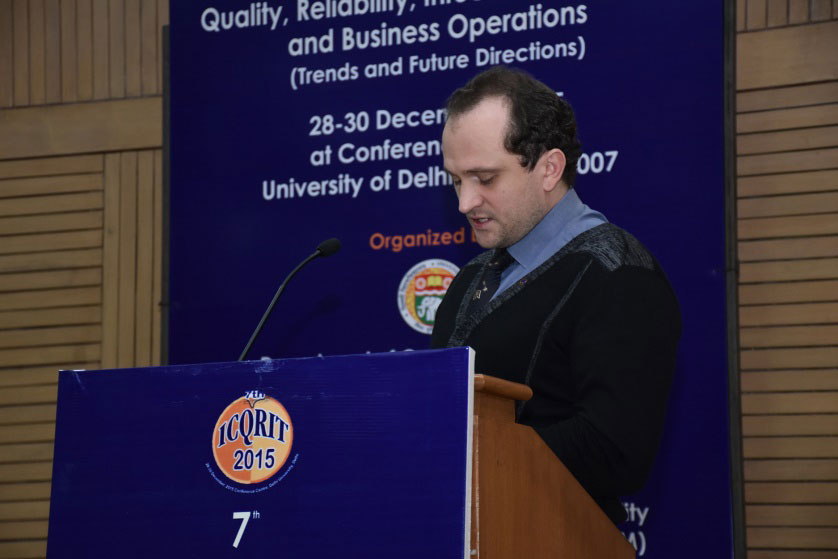 SPbPU took part in ICQRITBO Conference in India