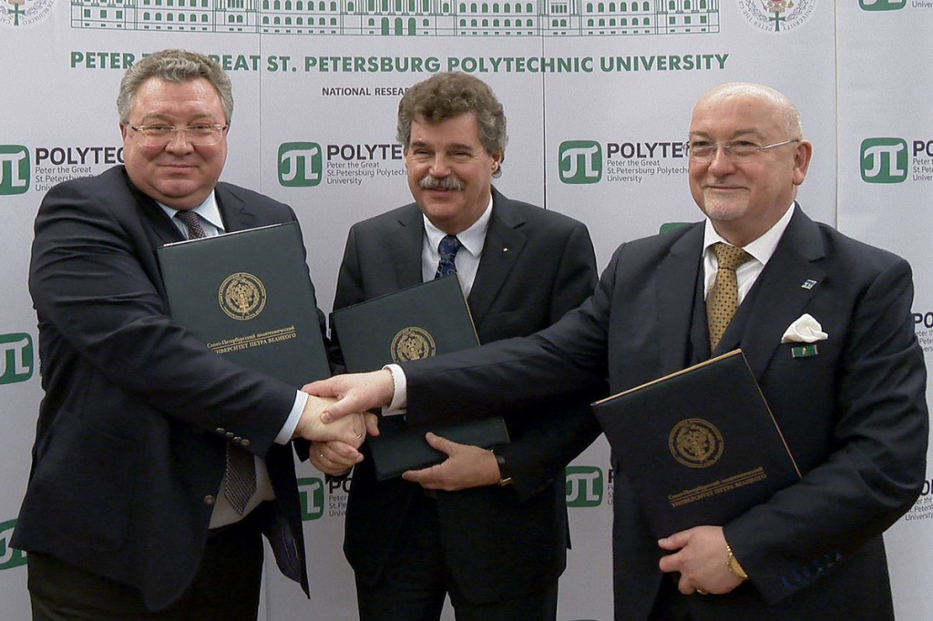 Russian-German Research and Education Center is to be created at SPbPU