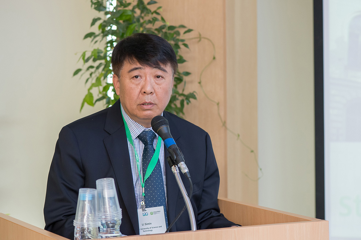 Rector of the University of Science and Technology of Guangxi (China), Mr. LI Simin also spoke about the development opportunities for strategic partnership