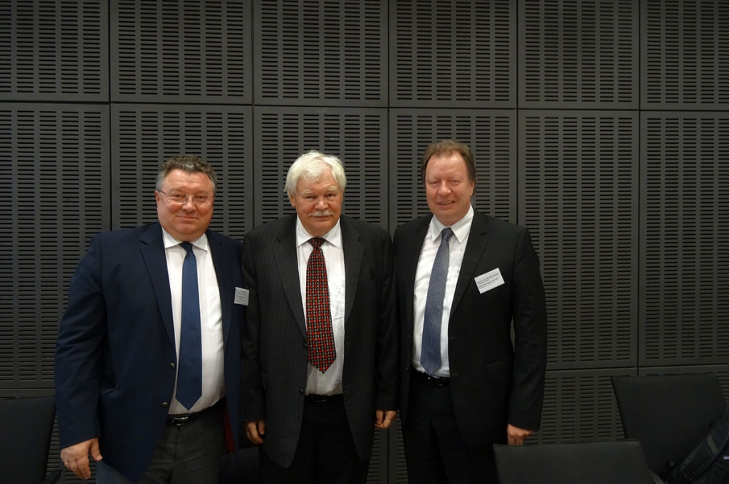 Rector of SPbPU Discussed Modern Tendencies in the Sphere of University Systems Development with his German Colleagues