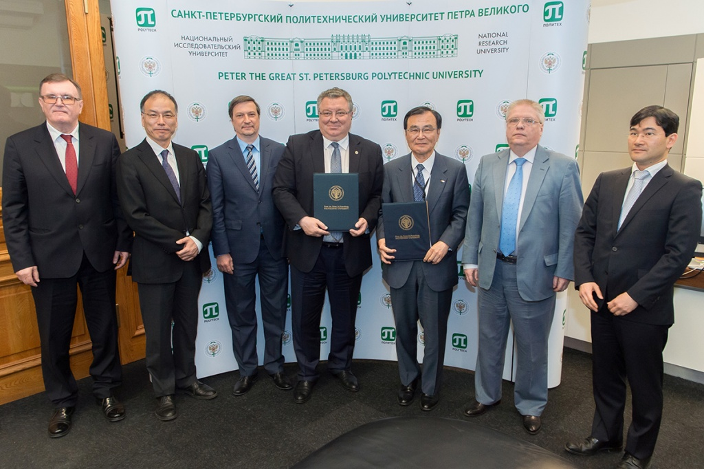 Cooperation agreement sealed between SPbPU and Chiba University