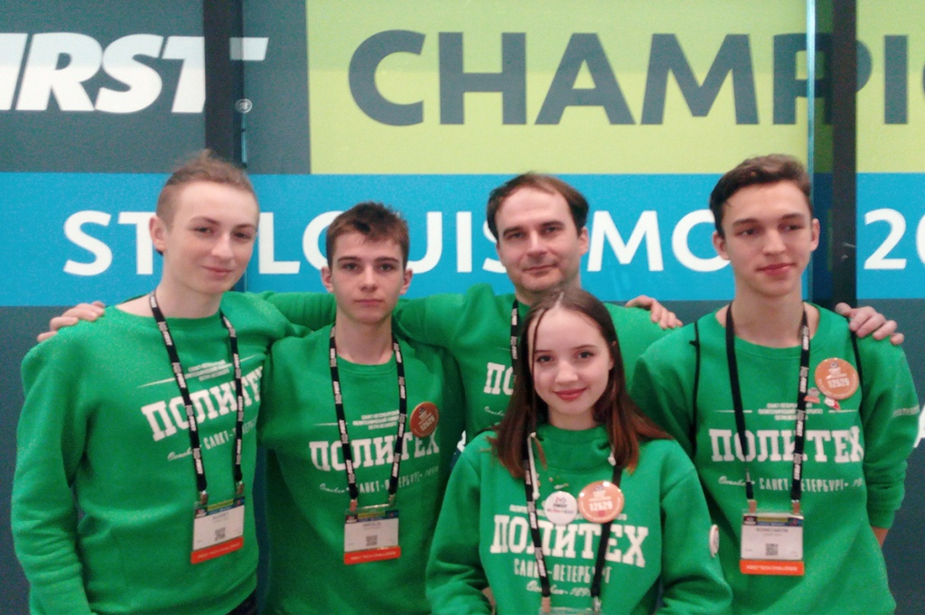 Engineers of Russia's Future attendees' results at the robotics championship worthy of praise