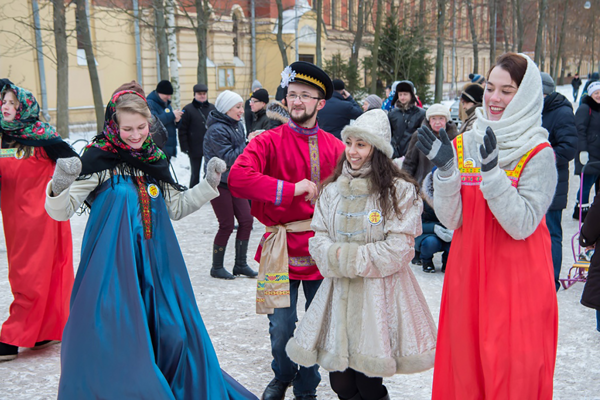 Maslenitsa: Concord of Traditions and Innovations at Polytechnic University
