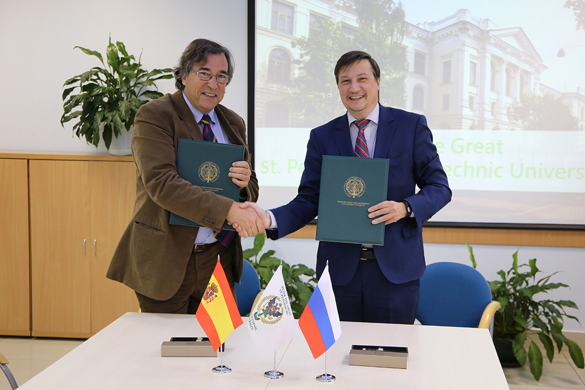 SPbPU and Polytechnic University of Catalonia have signed an Agreement on Student Exchange
