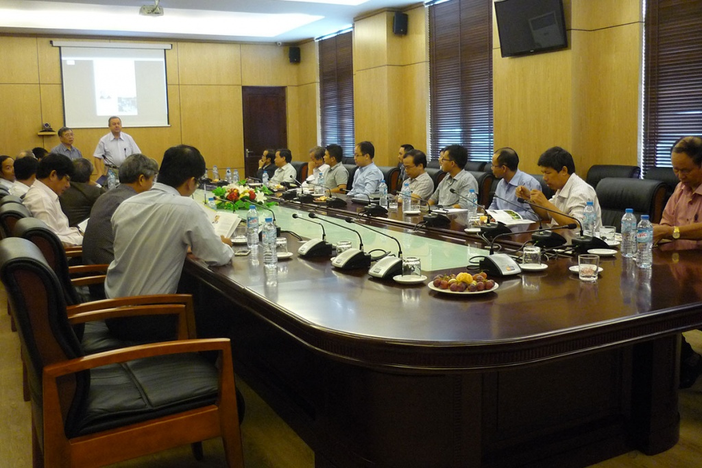 Visit of SPbPU delegation to Vietnam