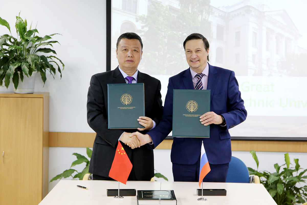 Last December, SPbPU signed a number of new agreements with Chinese schools and companies