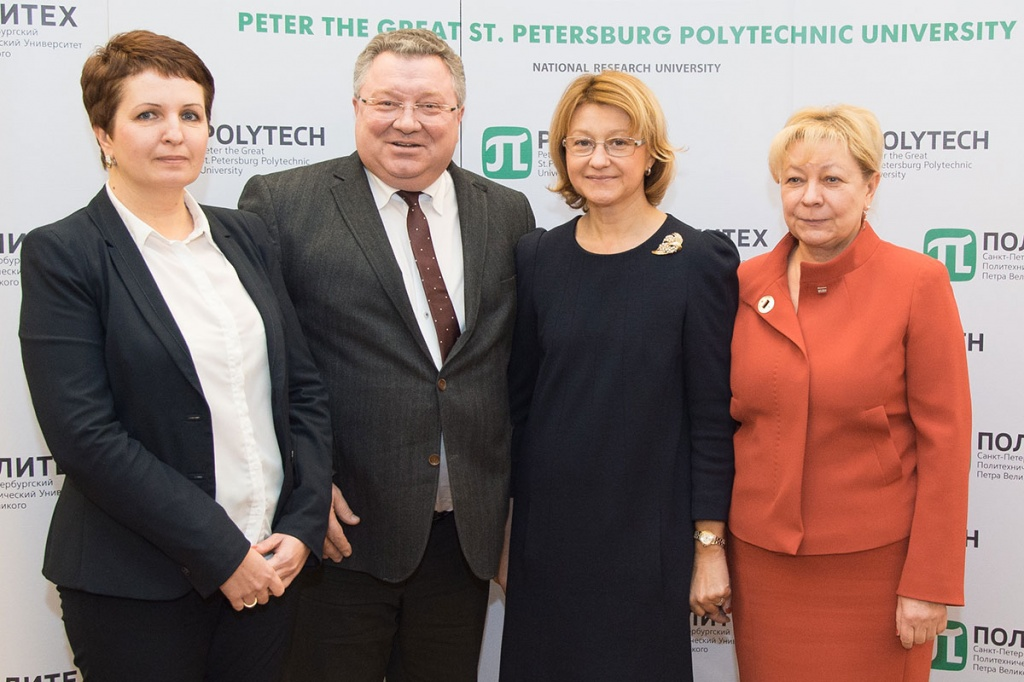 Head of the Presidential Academic Policy Department I. P. Bilenkina Visited SPbPU