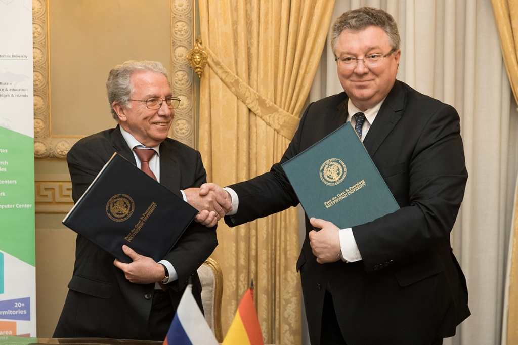 SPbPU Information Center in Madrid has opened and provides new prospects for academic partnership between Russia and Spain