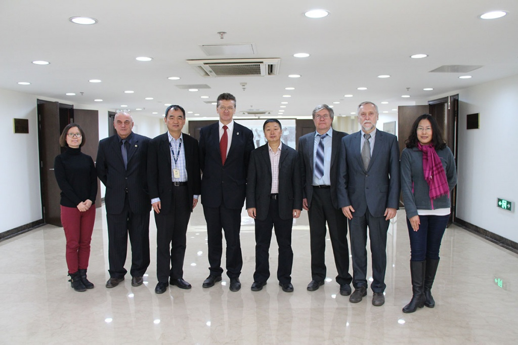 Delegation of the Institute of Energy and Transport Systems of SPbPU Visits Tsinghua University