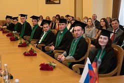 First Graduates of the 'Industrial Management' Educational Program