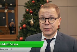 Interview with rector of Lappeenranta University of Technology Juha-Matti Saksa