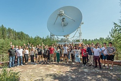 Earth in the Window: Students of the International Polytechnic Summer School Study the Universe