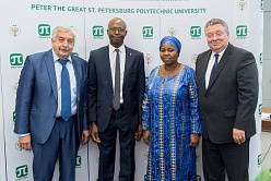 Polytechnic University Opens its Information Center in the Republic of Mali