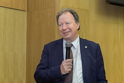 Interview with rector of University of Stuttgart Wolfram Ressel at SPbPU
