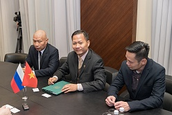 President of Bình Dương University about cooperation with SPbPU
