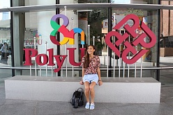 SPbPU Student about Her Internship at PolyU